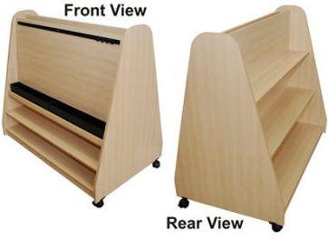 Standard Height Range - Paint Station/Shelf Unit