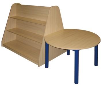 Double Shelf Unit