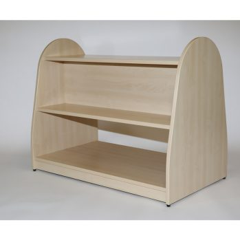 Double Sided Shelf Unit - Through Base Shelf