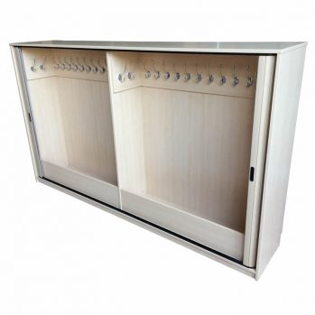 Tambour Base Unit Maple - Maple - Open