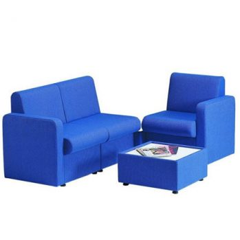 Fully upholstered seating