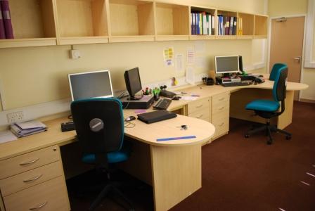 Admin Office desks with storage