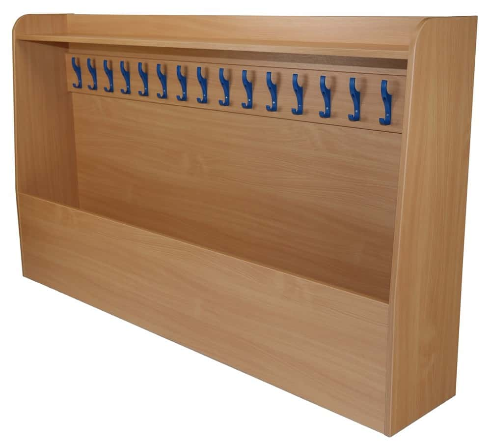 Single Sided static cloakroom unit