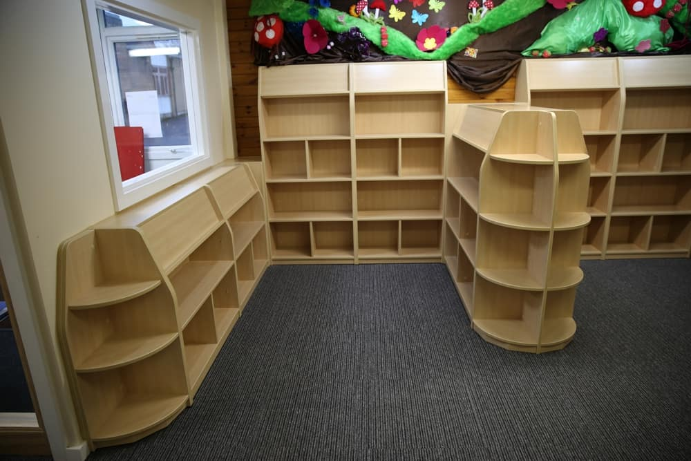 Library Furniture   Library Design. St Paul s Primary School Library   Manchester   Foundation stage