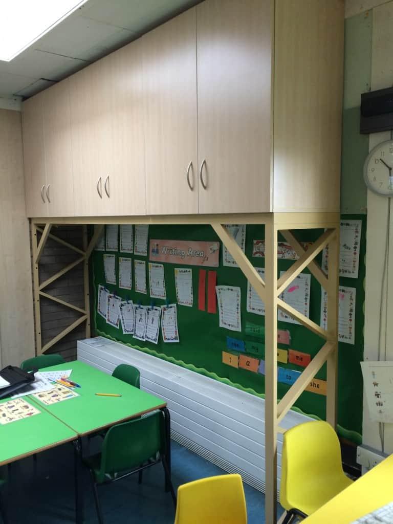 Storage Units on framework