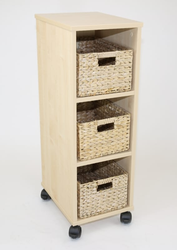 Natural Small Basket storage unit