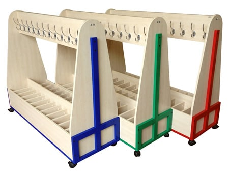 Mobile Cloakroom Furniture MCST-C30