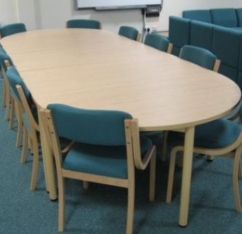 School Staff Room Meeting Table