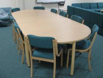 School Staff Room Meeting Table