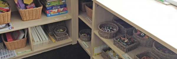 Classroom Built-in Storage 2