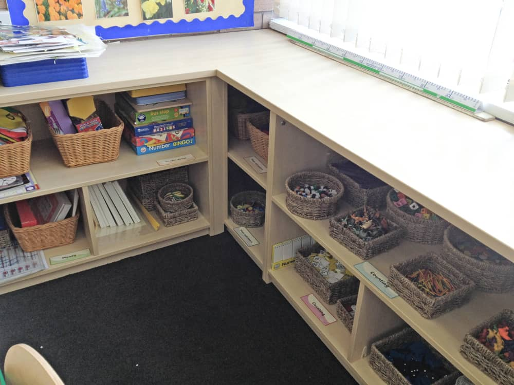Classroom Built-in Storage 2