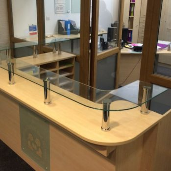 School Reception Counter