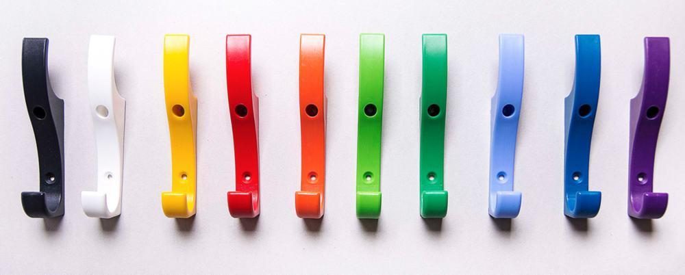 Plastic Peg Colour Range - lifetime warranty