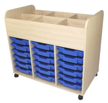 School Tray Storage