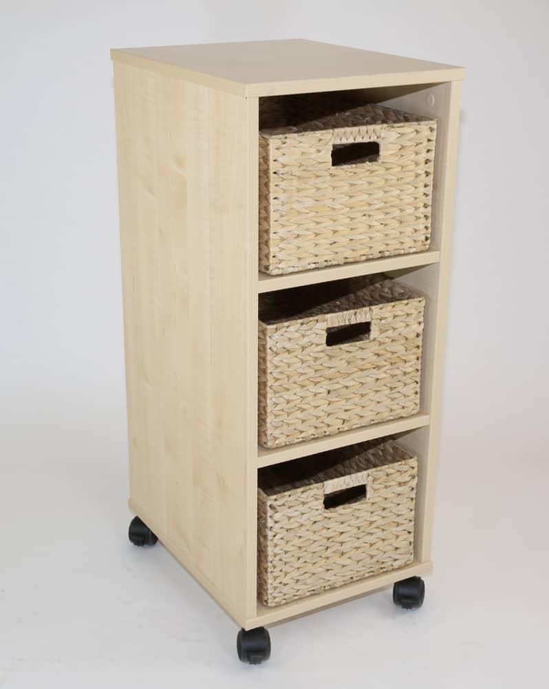Natural Medium Basket storage unit