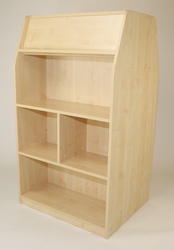 Standard range double sided library shelf unit