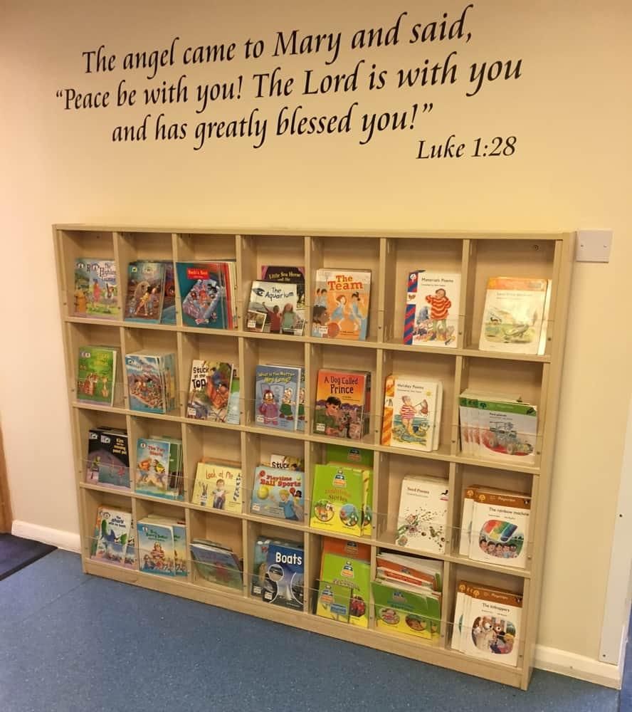 Reading Scheme Bookcases
