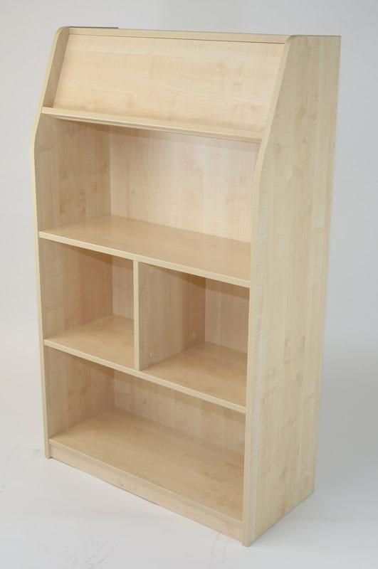 Standard range single sided library shelf unit