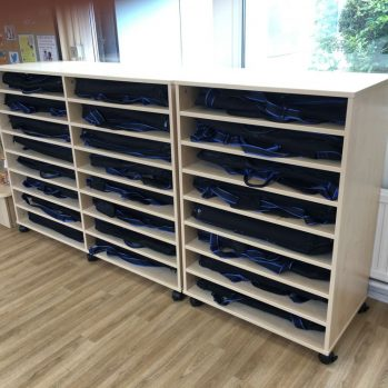 School Musical Instrument Storage