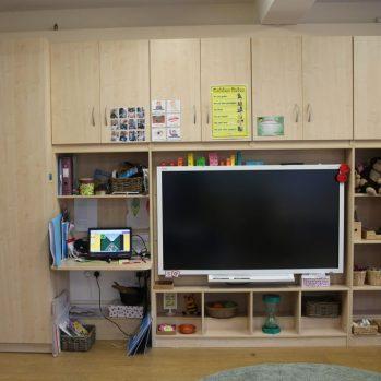 School Classroom Storage