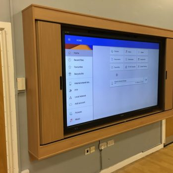 School Hall Media Unit