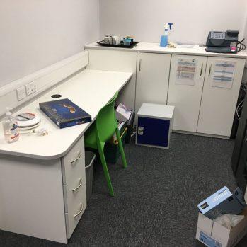 Main Admin Office Desking & Storage