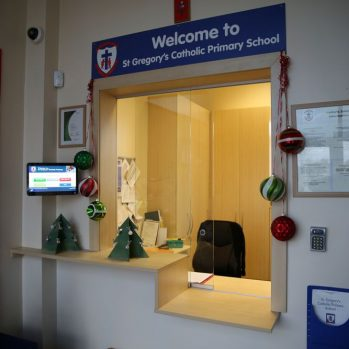 DDA School Reception Counter