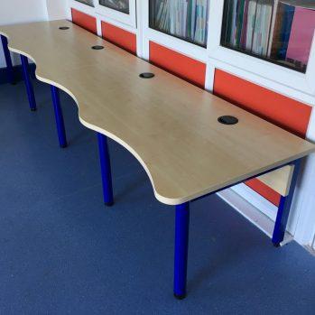 Classroom computer desk