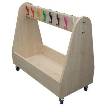 School Cloakroom Trolley